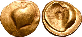 Central Europe, the Boii AV Stater. Precursor to the Muschel Type.