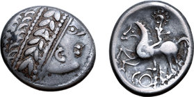 Central Europe, West Noricum AR Tetradrachm. Coppo Type.