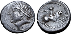 Central Europe, West Noricum AR Tetradrachm. Adnamati Type.