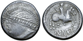 Central Europe, West Noricum AR Tetradrachm. Nemet Type.