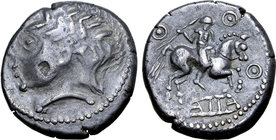 Central Europe, West Noricum AR Tetradrachm. Atta Type.