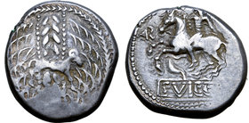 Central Europe, West Noricum AR Tetradrachm. Svicca Type.