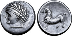 Central Europe, East Noricum AR Tetradrachm. Warasdin Type B.