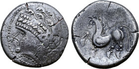 Central Europe, East Noricum AR Tetradrachm. Samobor Type A.