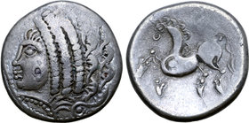 Central Europe, East Noricum AR Tetradrachm. Samobor Type B.