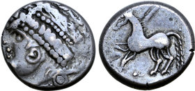 Central Europe, East Noricum AR Tetradrachm. Brezelohr Type A.