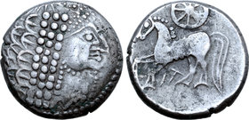 Central Europe, East Noricum AR Tetradrachm. Wuschelkopf Type.