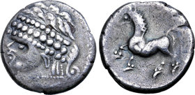 Central Europe, East Noricum AR Tetradrachm. Freie Samobor Type C.