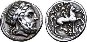 Celts in Eastern Europe AR Tetradrachm. Faithful legend type.