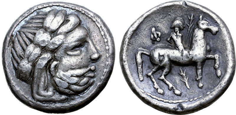 Celts in Eastern Europe AR Tetradrachm. Banater Kreis / Lokaltyp. Imitating Phil...