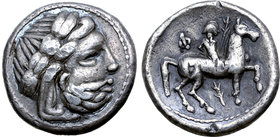 Celts in Eastern Europe AR Tetradrachm. Banater Kreis / Lokaltyp.