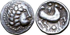 Celts in Eastern Europe AR Tetradrachm. Beardless Type.