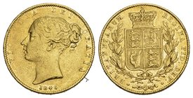 Great Britain AV Sovereign 1846 Great Britain. Victoria. AV Sovereign 1846. Shield type. 7.98g Gold
