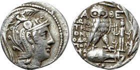 ATTICA. Athens. Tetradrachm (148/7 BC). New Style Coinage. Sokrates, Dionisodo and Apolofa, magistrates.