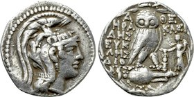 ATTICA. Athens. Tetradrachm (139/8 BC). New Style Coinage. Herakleides, Eikles and Dionis, magistrates.