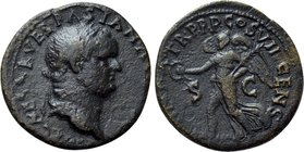 VESPASIAN (69-79). Semis. Uncertain mint in Asia Minor, possibly Ephesus.