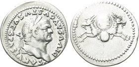 DIVUS VESPASIAN (Died 79). Denarius. Rome. Struck under Titus.