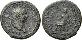 TITUS (79-81). Quadrans. Uncertain eastern mint, possibly in Thrace.