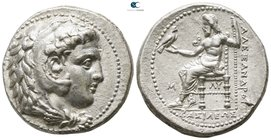 Kings of Macedon. Babylon. Philip III Arrhidaeus 323-317 BC. In the name and types of Alexander III. Tetradrachm AR