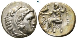 Kings of Macedon. Lampsakos. Philip III Arrhidaeus 323-317 BC. In the name and types of Alexander III.Struck under Leonnatos, Arrhidaios, or Antigonos...