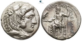 "Kings of Macedon. Side. Alexander III ""the Great"" 336-323 BC. Struck circa 325-320 BC. Tetradrachm AR"