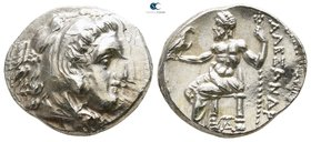 "Kings of Macedon. Teos. Alexander III ""the Great"" 336-323 BC. Drachm AR"