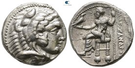 "Kings of Macedon. Tyre. Alexander III ""the Great"" 336-323 BC. Dated RY 26 of 'Ozmilk=324/3 BC. Tetradrachm AR"