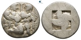 Islands off Thrace. Thasos circa 510-480 BC. Drachm AR