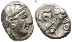 Attica. Athens circa 353-294 BC. Possibly a contemporary imitation. Tetradrachm AR