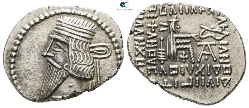 Kings of Parthia. Ekbatana. Pakoros I AD 78-120. 