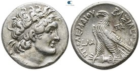 Ptolemaic Kingdom of Egypt. Alexandreia. Ptolemy VI Philometor, second reign 163-145 BC. Dated RY 31=151/0 BC. Tetradrachm AR