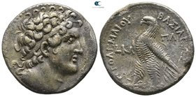 Ptolemaic Kingdom of Egypt. Paphos. Ptolemy VI Philometor, second reign 163-145 BC. Dated RY 21=161/0 BC. Tetradrachm AR