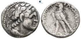 Ptolemaic Kingdom of Egypt. Uncertain mint in Cyprus. Ptolemy VI Philometor, second reign 163-145 BC. Dated year 106 of an uncertain era (157/6 BC). D...