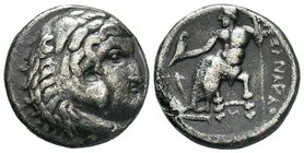 "Kings of Macedon. Alexander III ""the Great"" 336-323 BC.   Condition: Very Fine  Weight: 14.71 gr Diameter: 26.34"