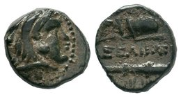 "Kings of Macedon. Alexander III ""the Great"" 336-323 BC. Ae  Condition: Very Fine  Weight: 2.90gr Diameter: 13.46mm"