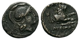 KINGS OF THRACE. Lysimachos, 305-281 BC. Bronze AE  Condition: Very Fine  Weight: 2.19gr Diameter: 13.63mm