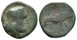 KINGS OF GALATIA. Amyntas (36-25 BC). Ae  Condition: Vey Fine  Weight: 6.41gr Diameter: 18.98mm