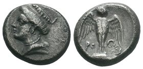 PONTOS. Amisos (as Peiraieos). Siglos or Drachm (Circa 435-370 BC).   Condition: Very Fine  Weight: 5.52gr Diameter: 18.09mm  From a Private UK Collec...