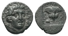 Islands of Caria, Rhodes, c. 170-150 BC. AR Hemidrachm   Condition: Very Fine  Weight: 1.45gr Diameter: 13.40mm  From a Private DUTCH Collection.
