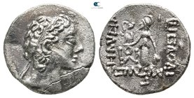 Eastern Europe. Imitating Cappadocian Kingdom mint issue 170-120 BC. Drachm AR