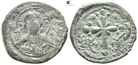 attributet to Nicephorus III AD 1078-1081. Constantinople. Follis Æ