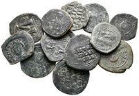 Lot of ca. 12 byzantine bronze coins / SOLD AS SEEN, NO RETURN!very fine
