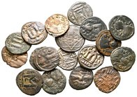 Lot of ca. 18 arab-byzantine bronze coins / SOLD AS SEEN, NO RETURN!very fine