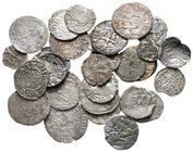 Lot of ca. 31 medieval silver coins / SOLD AS SEEN, NO RETURN!nearly very fine