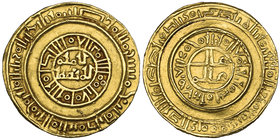 CRUSADERS, UNCERTAIN PRINCIPALITY (TYRE?) Gold bezant, imitating a Fatimid dinar of al-Amir Weight: 3.89g Reference: Balog/Yvon 26a. Good very fine an...