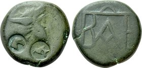 KINGS OF BOSPOROS. Polemo I (Circa 37-8 BC). Ae. Pantikapaion.