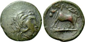 THRACE. In the Name of the Odrysians(?). Ae (Circa 340 BC).