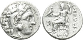 KINGS OF MACEDON. Alexander III 'the Great' (336-323 BC). Drachm. Uncertain.