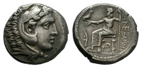KINGS of MACEDON. Alexander III 'the Great'. 336-323 BC. AR Tetradrachm   Condition: Very Fine  Weight: 16.77 gr Diameter: 26 mm