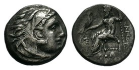 KINGS of MACEDON. Alexander III 'the Great'. 336-323 BC. AR    Condition: Very Fine  Weight: 4.05 gr Diameter: 17 mm